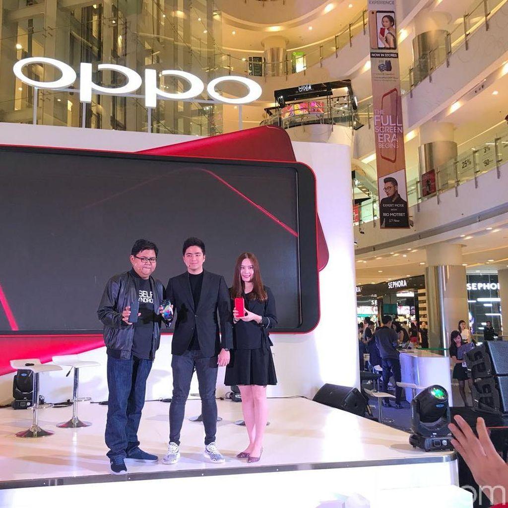 Penjualan Perdana Oppo F5 Salip F3