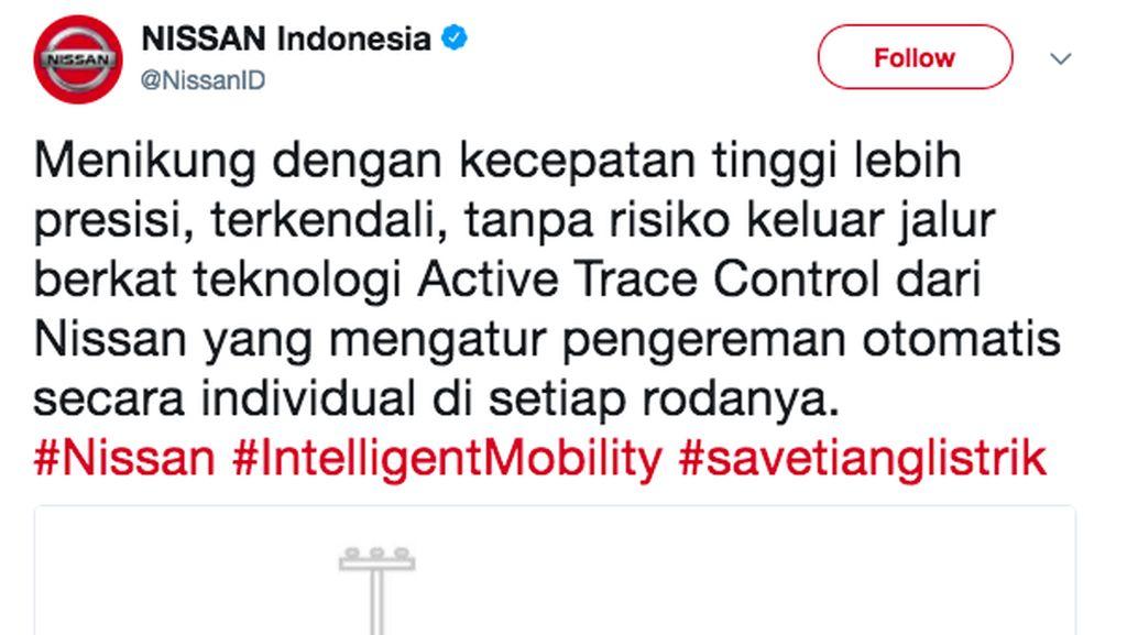 Nissan Ikut Kampanyekan 'Save Tiang Listrik'