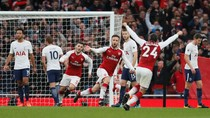 Arsenal Ungguli Spurs 2-0 di Paruh Babak