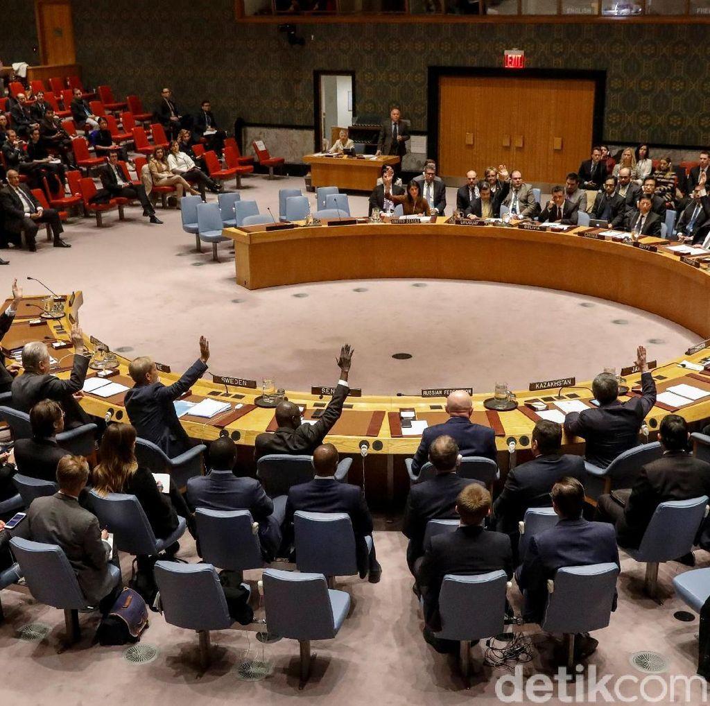 Rusia Memveto Penyelidikan Serangan Kimia di Suriah