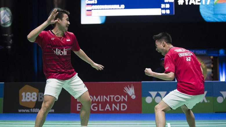 Singkirkan Wakil China, Kevin/Marcus Tembus Final