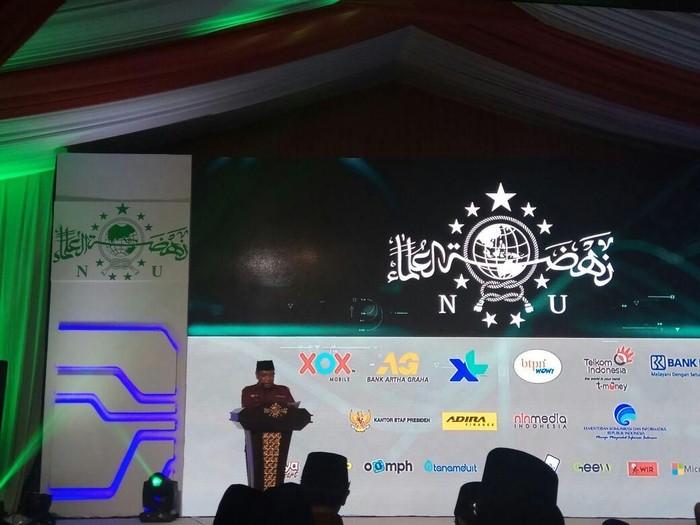 Peluncuran aplikasi NU Mobile. Foto: NU