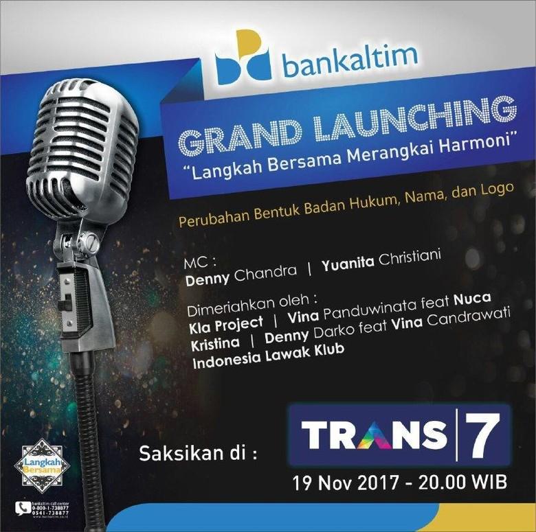 Ubah Identitas, bankaltim Bawa Layanan Perbankan ke Seluruh Indonesia