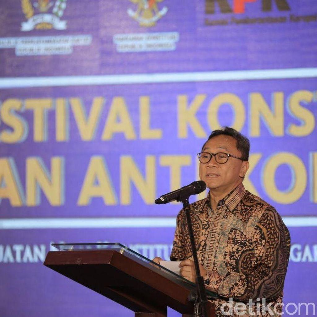 Belajar dari Kasus Novanto, Ketua MPR: Jaga Kehormatan Lembaga Negara!