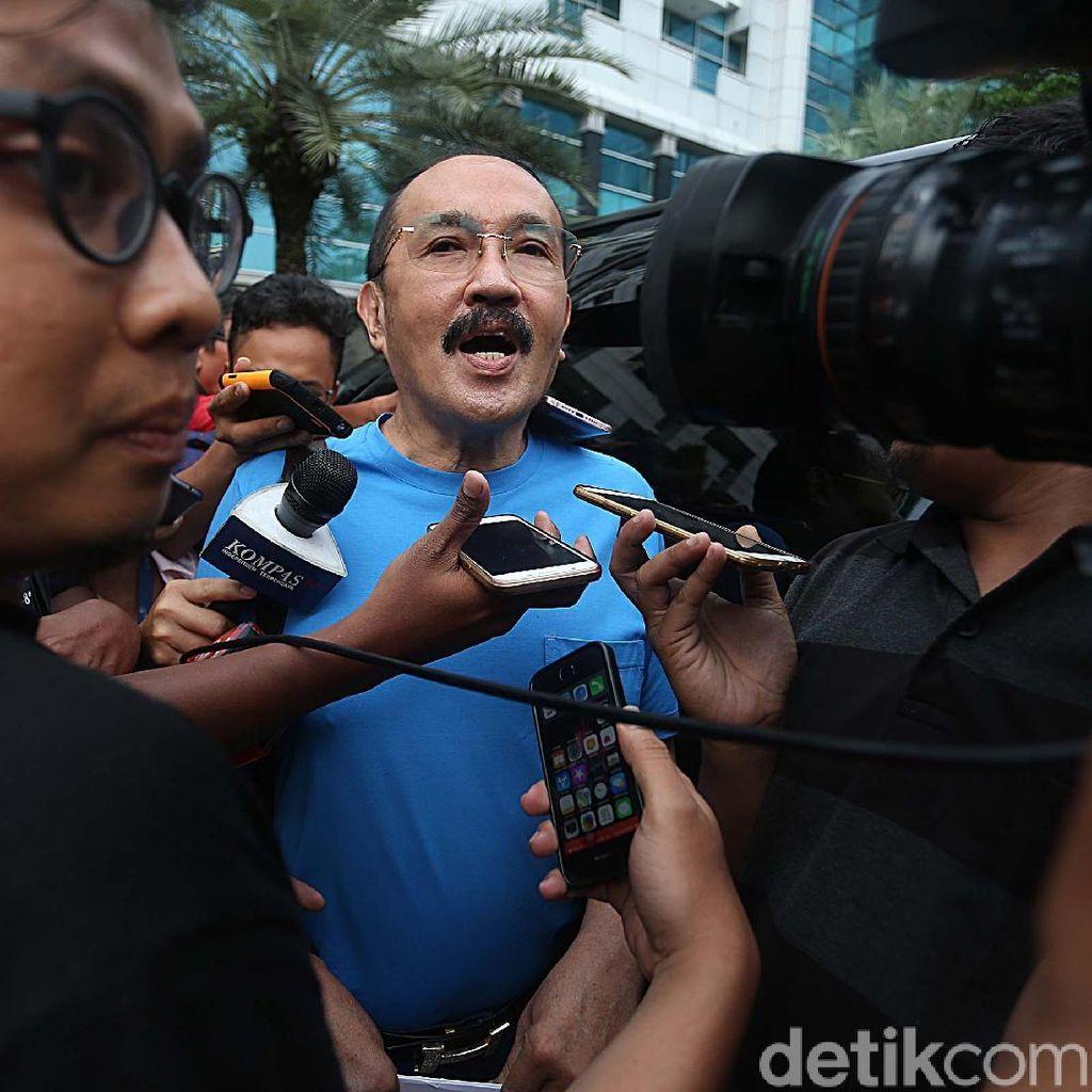 Diserbu Wartawan, Pengacara Jelaskan Kondisi Novanto