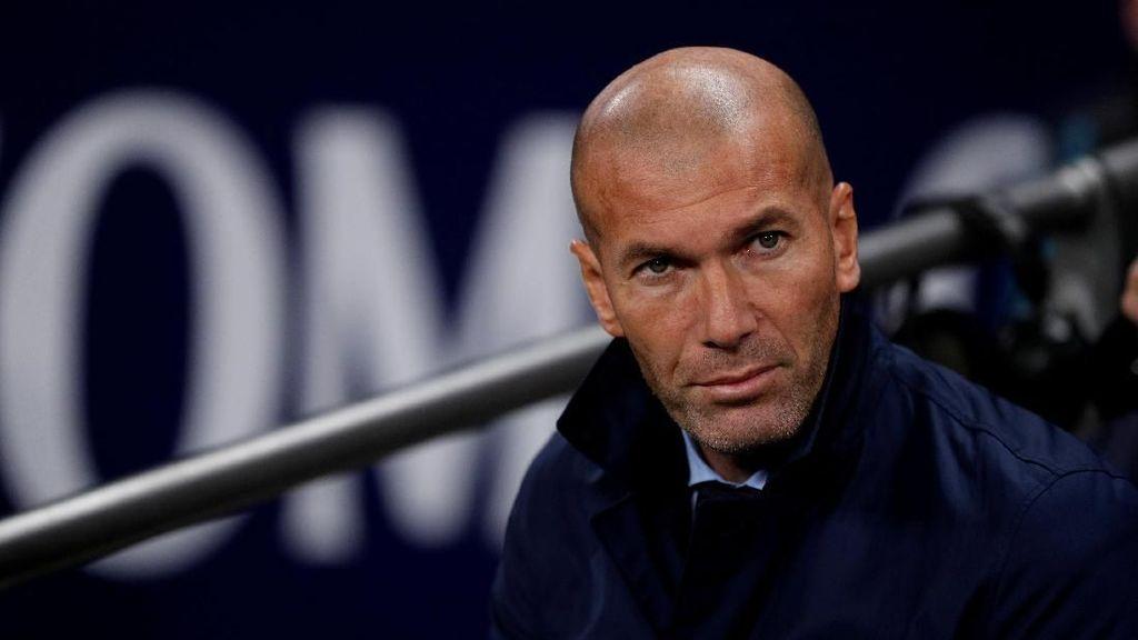 Zidane: Madrid Harus Gas Pol Selama 90 Menit