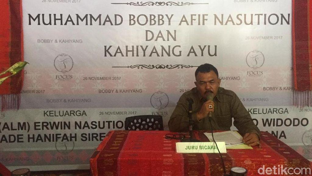 Adat Pemberian Marga Siregar untuk Kahiyang Dilakukan 21 November