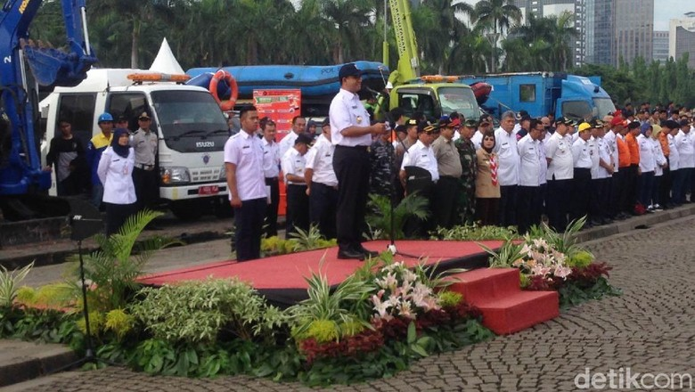 Tiga Kata Kunci Anies Baswedan untuk Siaga Bencana Jakarta