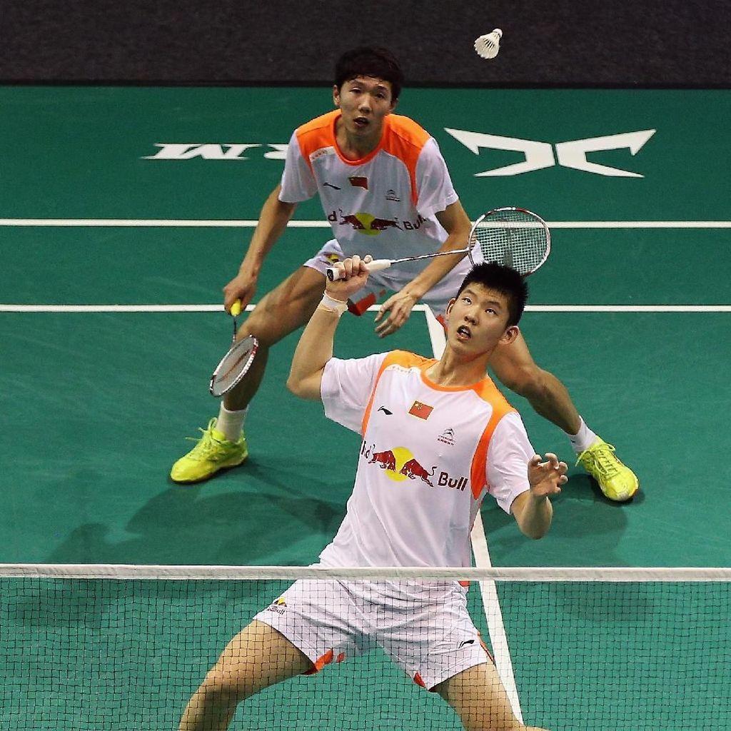 Junhui/Yuchen Mati Kutu dengan Kecepatan Kevin/Marcus