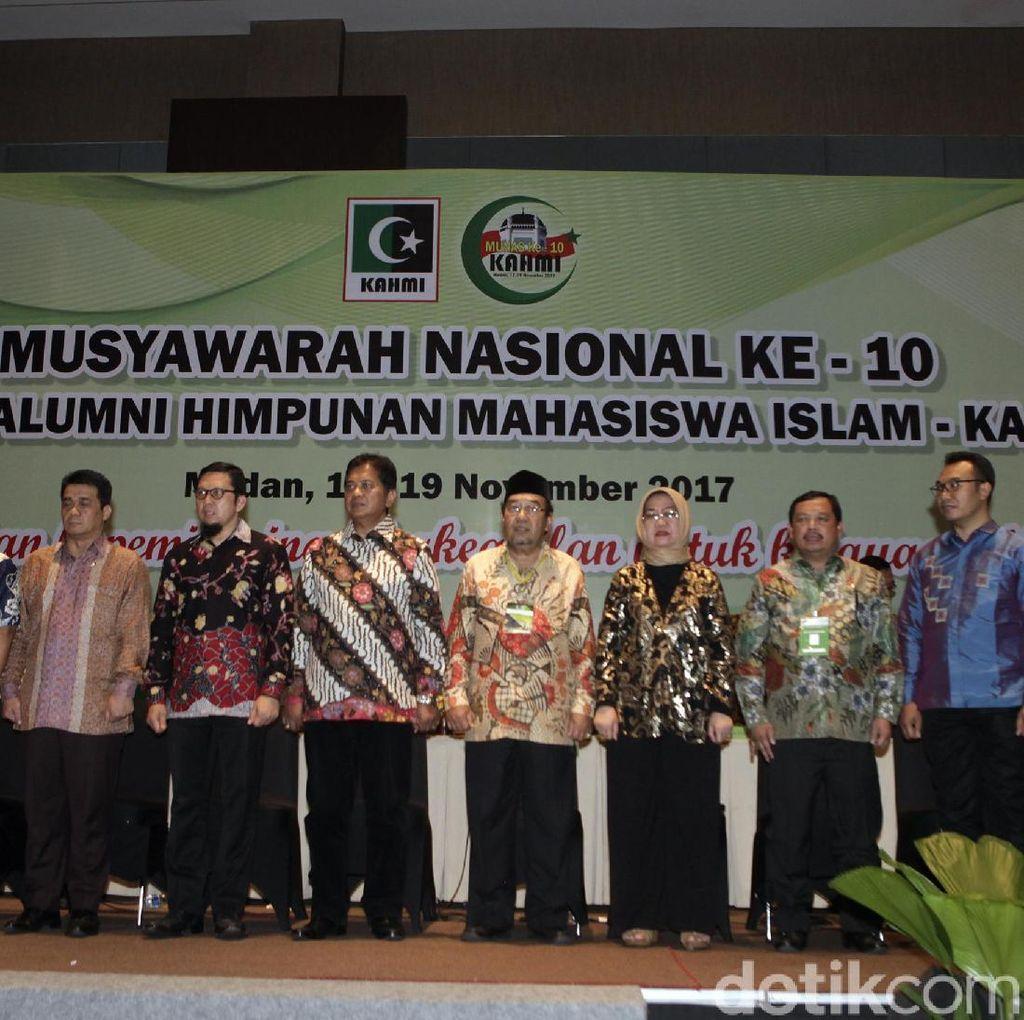 Kamrussamad Terpilih Jadi Ketua Presidum KAHMI 2017-2022
