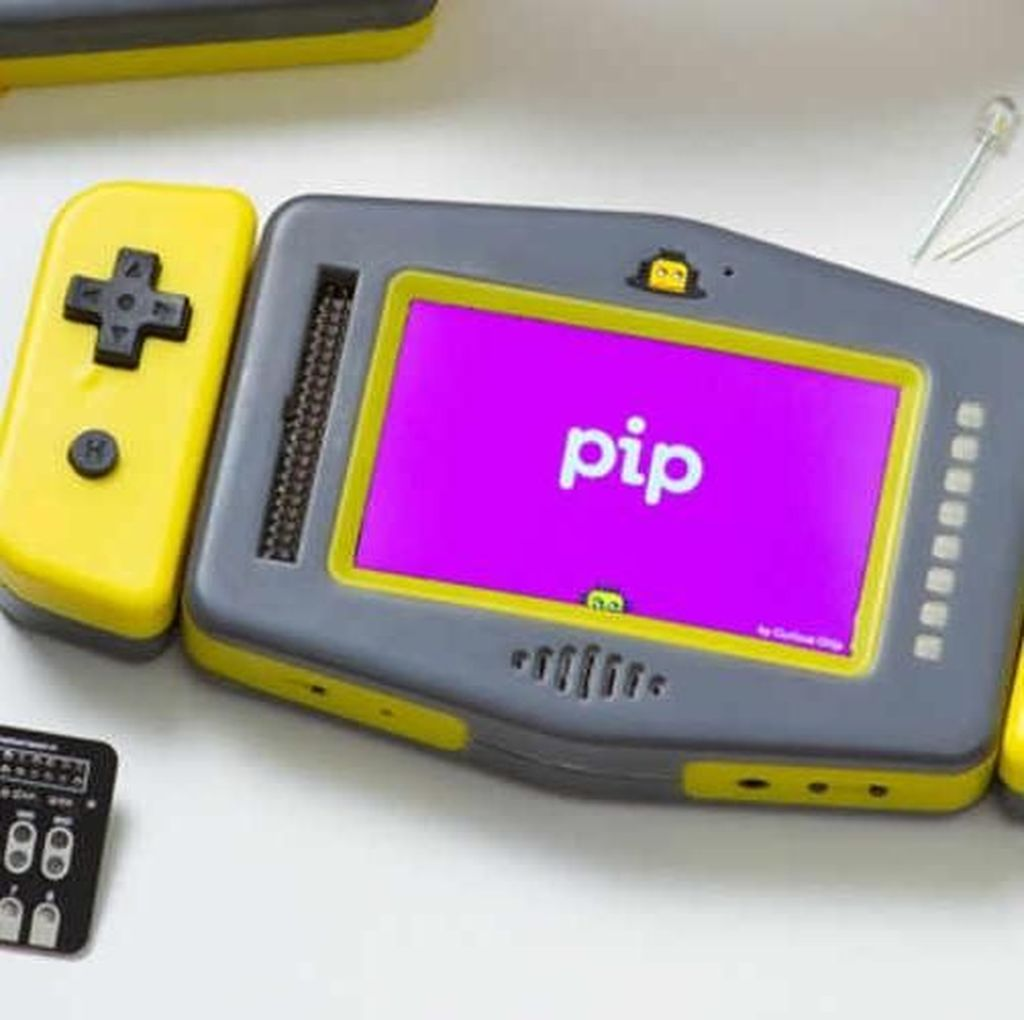 Pip, Konsol Game Sekaligus Tempat Belajar Koding