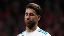 Hidung Sergio Ramos vs Sepatu Lucas Hernandez