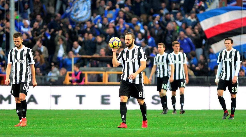 Juventus Ditaklukkan Sampdoria 2-3