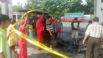 Penjual Bensin Eceran ini Terbakar saat Isi BBM di SPBU