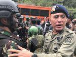 Kehangatan Jenderal Polisi dan Prajurit TNI
