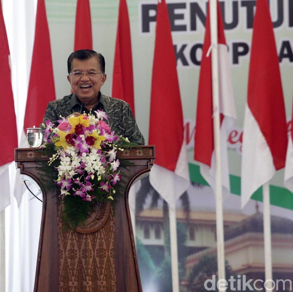 Setya Novanto Ditahan, Wapres JK: Proses Hukum Sudah Berjalan