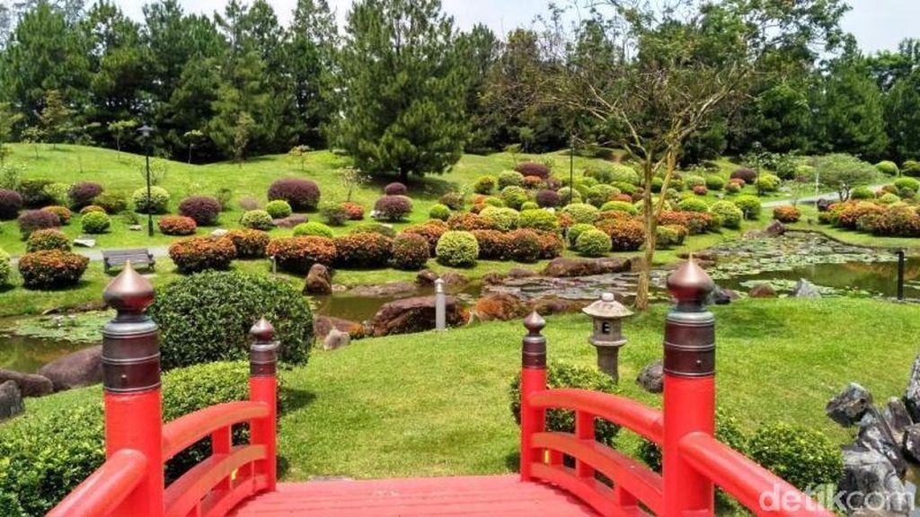 Nuansa Jepang & China di Taman Cantik Singapura