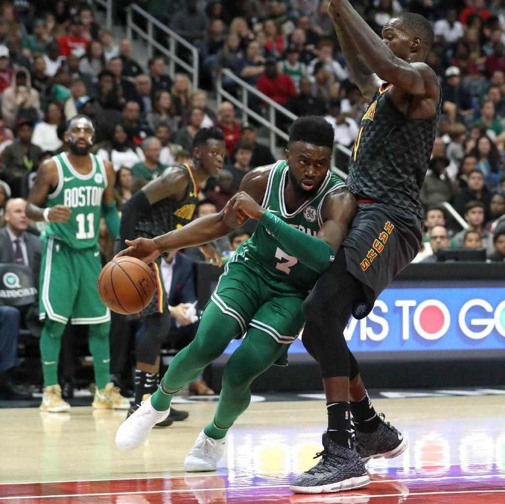 Celtics Bekap Hawks, Catat Kemenangan ke-15 secara Beruntun