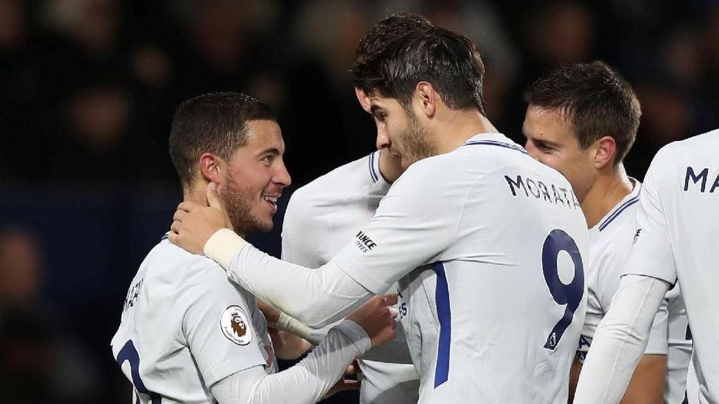 Kata Conte tentang Performa Morata-Hazard