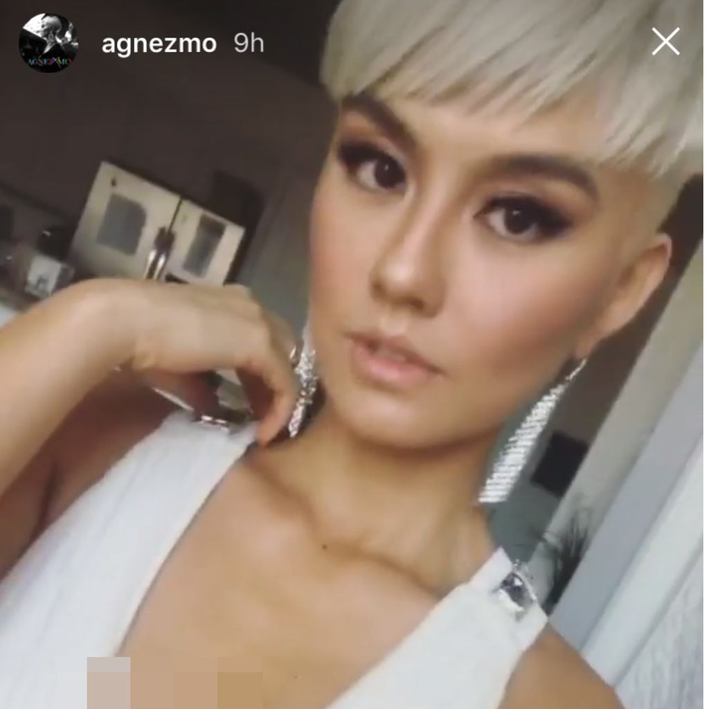 Agnez Mo Kolaborasi dengan Chris Brown?