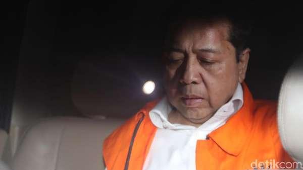 Punya Wewenang Penahanan 120 Hari, Kapan KPK Sidangkan Novanto?