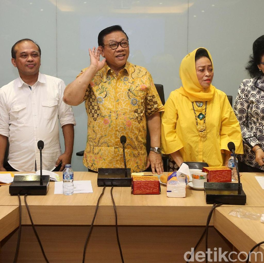 Setya Novanto yang Usul Idrus Marham Jadi Plt Ketum Golkar