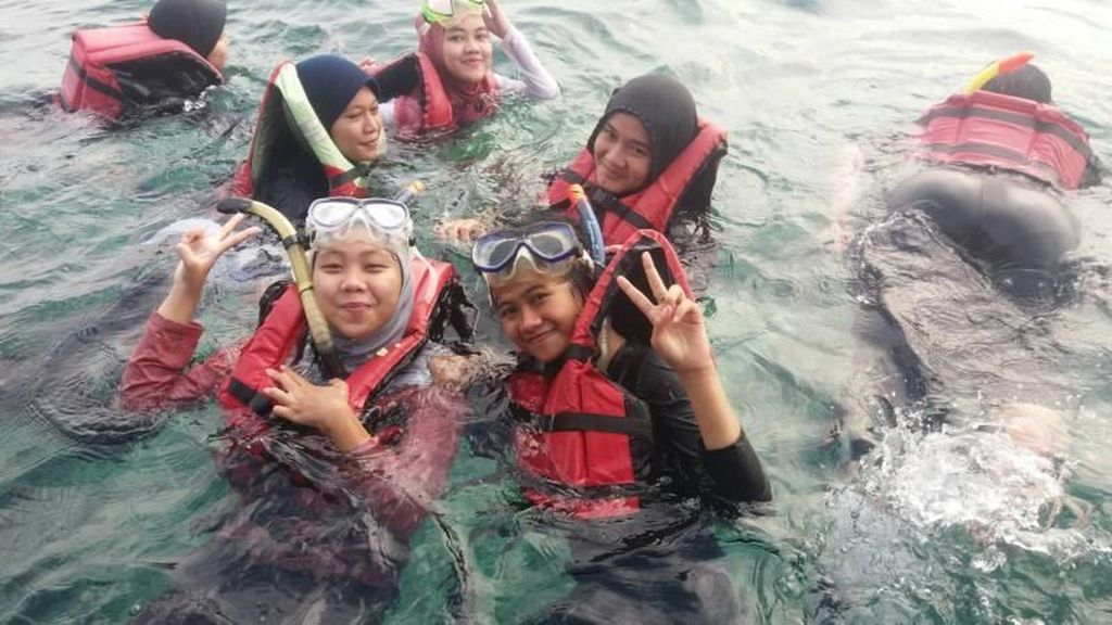 Pulau Pari yang Cantik di Utara Jakarta