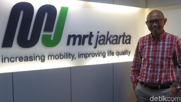Direktur Utama MRT Jakarta William Sabandar.