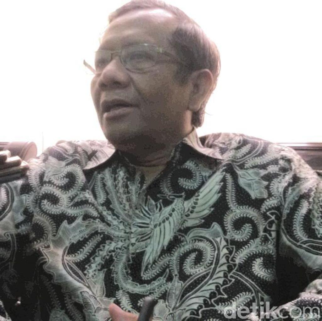 Mahfud MD: Jika Tak Mau Mundur dari DPR, Setya Novanto Harus Dipecat