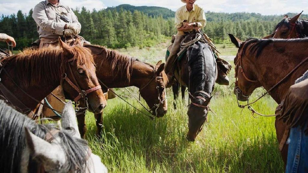Foto: Begini Kehidupan Koboi Sesungguhnya di Amerika