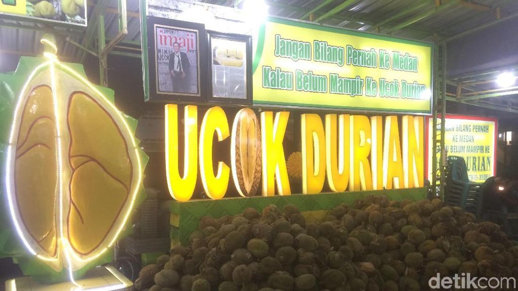 Ayang-Bobby Resepsi di Medan, Ucok Siapkan 5.000 Durian Sambut Jokowi
