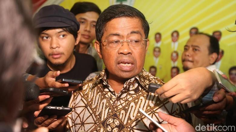 Jadi Plt Ketum Idrus Tetap - Jakarta Plt Ketua Umum Golkar Idrus menegaskan akan tetap menjalankan program kepartaian yang telah direncanakan politik menuju pilkada