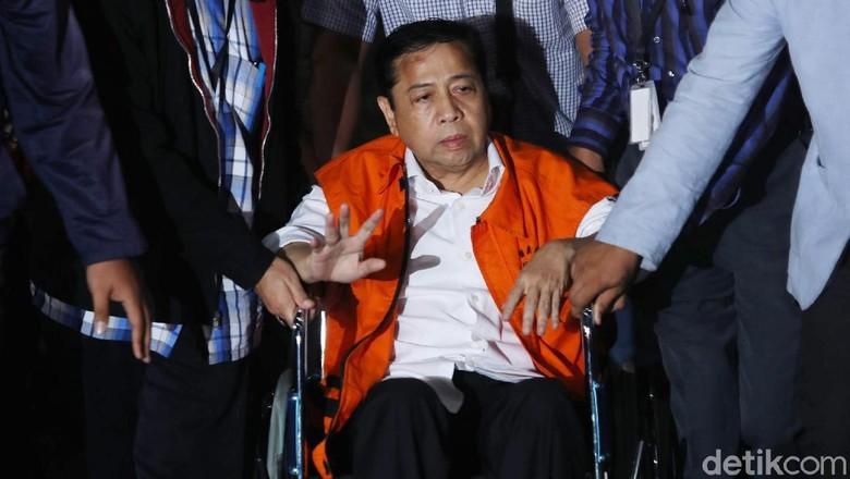 Setya Di Luar Dugaan Ada - Jakarta Setya Novanto menyebut tak mengira dirinya terkena musibah kecelakaan mobil hingga harus dirawat di rumah Novanto menyebut