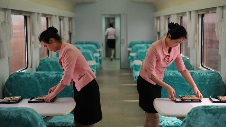 Foto Langka Keseharian Warga Korea Utara