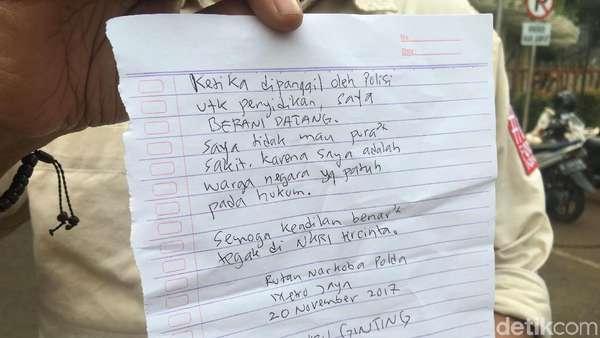 Jelang Putusan Praperadilan, Jonru Tulis Memo Sindir Setya Novanto