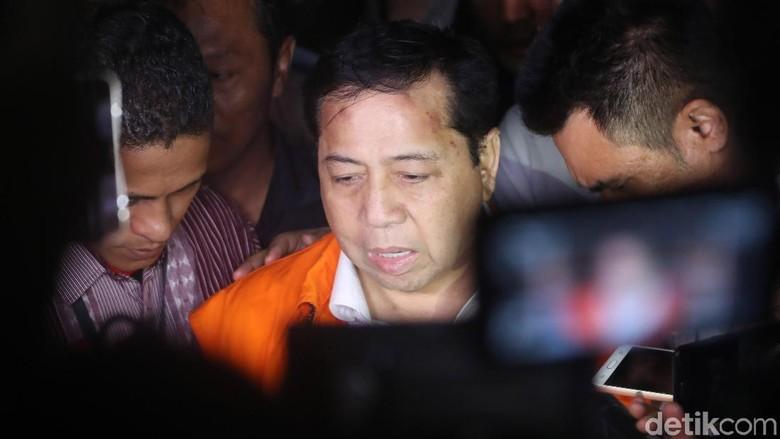 Dipepet Waktu Praperadilan Novanto, KPK: Paling Penting Bukti Kuat
