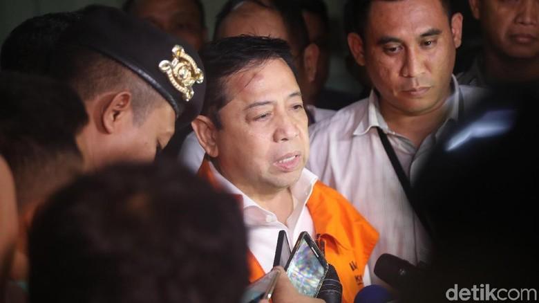 Setya Novanto Ditahan KPK, Menkum: Serahkan Pada Hukum