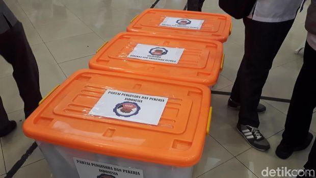 Daftar Ulang Peserta Pemilu 2019, PPPI Datangi KPU