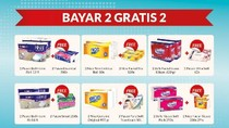 Bayar 2 Gratis 2 Tisu Wajah di Transmart Carrefour