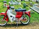 Honda 70 Biar Tua Tetap Ganteng