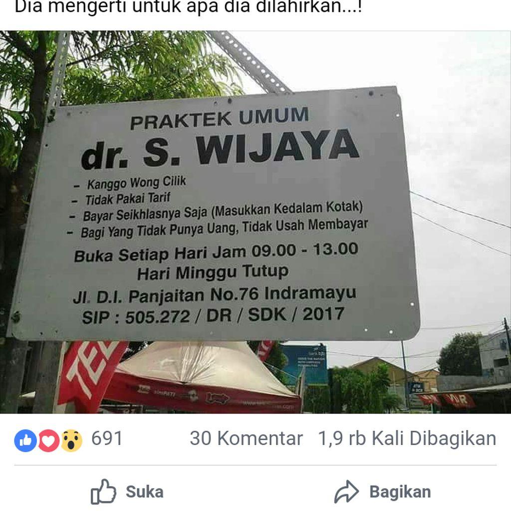Ini Cerita Pasien Dokter Wong Cilik di Indramayu yang Viral