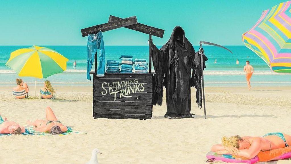 Ngeri! Pantai Ini Dihuni oleh Grim Reaper