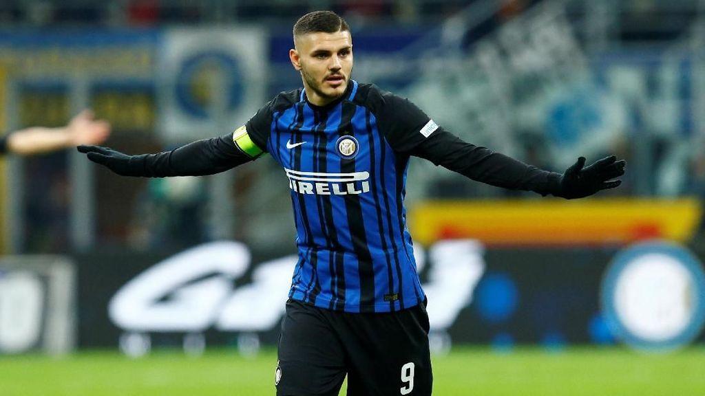 Moratti: Inter, Naikkan Klausul Pelepasan Icardi