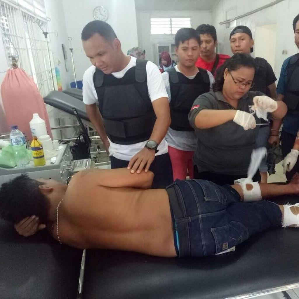 Miliki Senjata Api, Bandar Narkoba di Riau Ditembak Kedua Kakinya