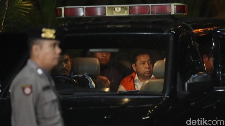 Ditahan KPK, Novanto: Saya Nggak Nyangka, Saya Pikir Diberi Recovery