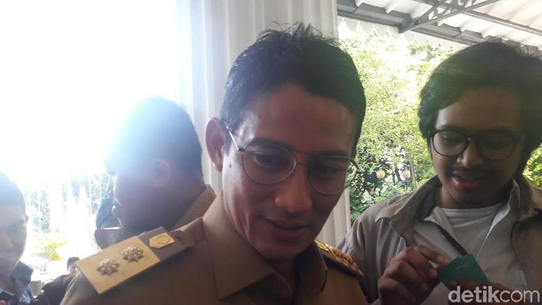 Bahas PMD, Sandiaga akan Undang PD Dharma Jaya