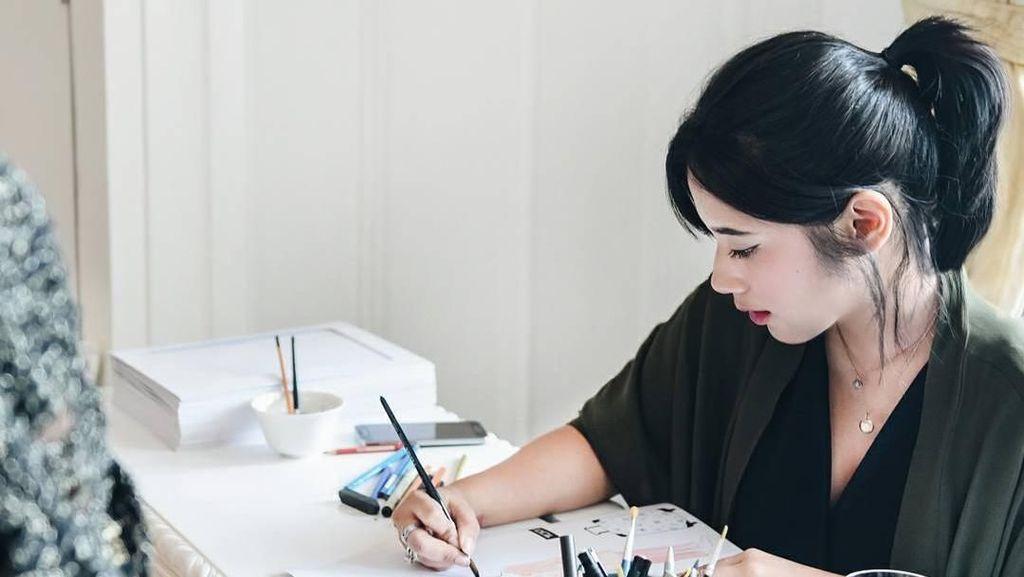 Katherine Karnadi, Si Ilustrator Timeless Beauty