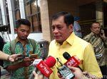 Nurdin Halid Sebut Jokowi akan Hadiri Munaslub Golkar