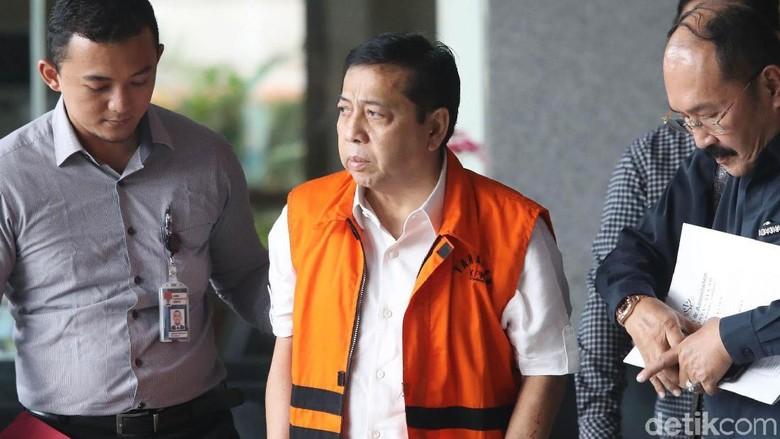 Setya Novanto Disebut Masih Sakit, Patokan KPK Tetap Hasil IDI