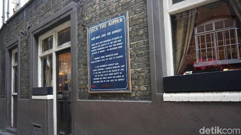 Foto: Misteri Jack The Ripper (Erna Mardiana/detikTravel)